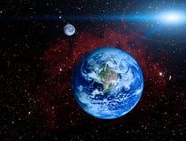 De planeet van de aarde Stock Afbeeldingen