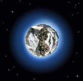 De planeet van de berg Stock Afbeelding