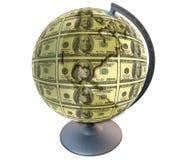 De planeet van de dollar royalty-vrije stock fotografie