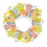 De planeet van de kleur Royalty-vrije Stock Fotografie