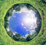 De planeet van de lente Stock Foto's