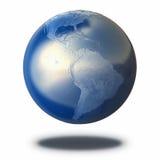 De Planeet van de metaalaarde vector illustratie