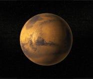 De planeet van Mars Stock Afbeelding