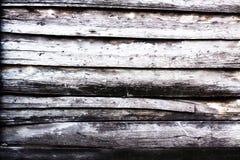 De plank uitstekende achtergrond van de hout houten muur Stock Foto's