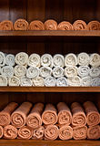 De plank van de handdoek stock afbeeldingen