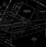 De Plannen van de architectuur Stock Fotografie