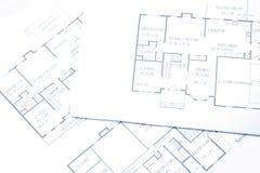 De Plannen van de vloer Stock Fotografie