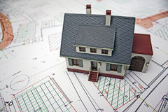 De planning van het huis