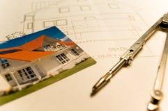 De planning van het huis Stock Afbeelding