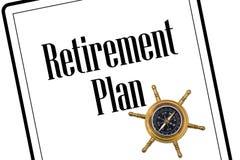 De planning van uw pensionering Stock Foto's