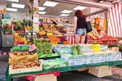 De plantaardige markt van Nuremberg royalty-vrije stock foto