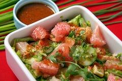 De plantaardige salade van de pompelmoes Royalty-vrije Stock Afbeeldingen