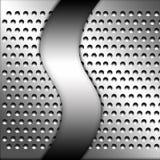 De plaque métallique Photo libre de droits