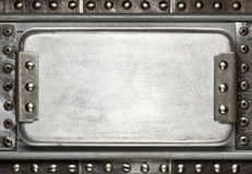 De plaque métallique Image libre de droits