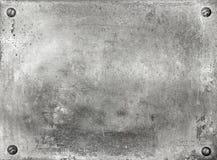 De plaque métallique image stock