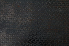 De plaque métallique détaillé Photographie stock