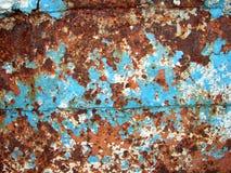 De plaque métallique rouillé photos stock
