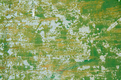 De plaque métallique vert Photos libres de droits