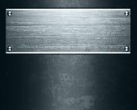 De plaque métallique Photos stock