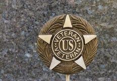 De plaque van de veteraan Royalty-vrije Stock Foto