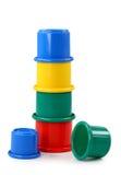 De plastic piramide van de baby Stock Fotografie