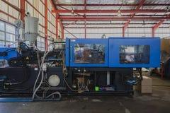 De plastic Vormende Machine van de Injectie Stock Afbeeldingen