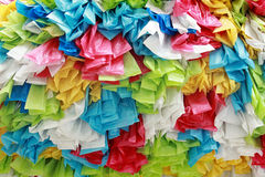 De plastic zak van het kleurenbroodje Stock Fotografie