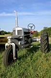 De plata tractor restaurado viejo rey Foto de archivo libre de regalías