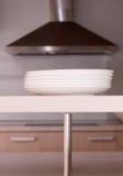 De platen van de keuken Stock Fotografie