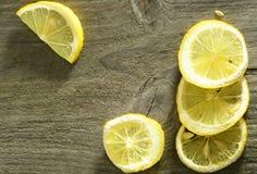 De plattelander van de citroen Stock Afbeeldingen