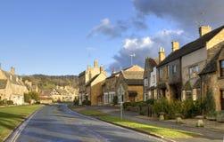 De Plattelandshuisjes van Cotswold, Engeland Royalty-vrije Stock Afbeeldingen