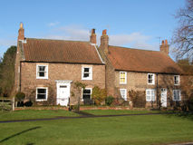 De Plattelandshuisjes van Yorkshire Royalty-vrije Stock Afbeeldingen
