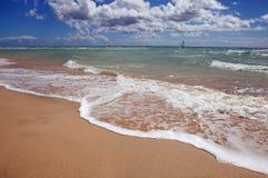 de playa sotavento Royaltyfri Fotografi