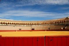 de plaza塞维利亚西班牙toros 免版税库存照片