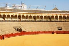 de plaza seville toros arkivbilder