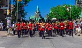 De plechtige Parade van de Wacht Royalty-vrije Stock Foto's