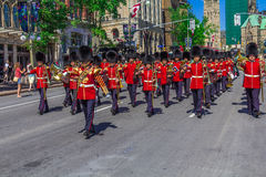 De plechtige Parade van de Wacht Stock Foto's