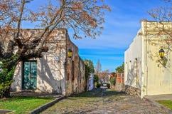 De pleinburgemeester van Colonia, Uruguay Stock Foto