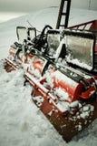 De Ploeg van de sneeuw Stock Afbeeldingen
