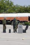 De ploegactie van de bom Stock Afbeelding