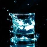 De plons van de alcohol Stock Foto's