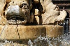 De Plons van de fontein Stock Afbeelding