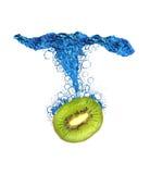 De plons van de kiwi Royalty-vrije Stock Foto's