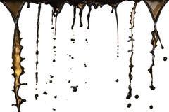 De plons van de koffie Royalty-vrije Stock Afbeelding