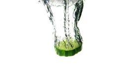 De plons van de komkommer Royalty-vrije Stock Afbeelding