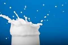 De plons van de melk Stock Foto