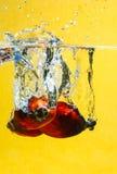 De plons van de Vruchten van de Palm van de olie Royalty-vrije Stock Afbeelding