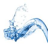 De plons van het water royalty-vrije illustratie