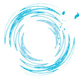 De plons van het water vector illustratie