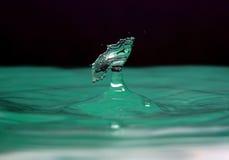 De plons van het water royalty-vrije stock fotografie